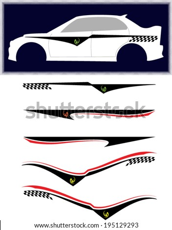 Car Sticker Stock Images RoyaltyFree Images  Vectors Shutterstock - Decal graphics for cars