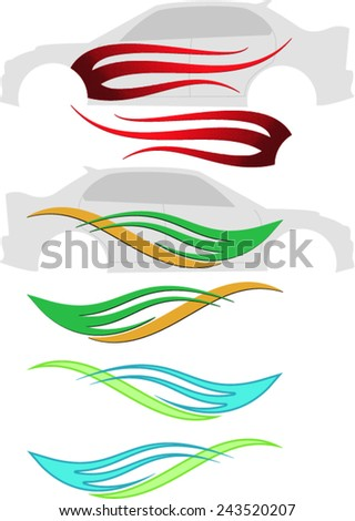 Car Vinyl Stock Images RoyaltyFree Images  Vectors Shutterstock - Best automobile graphics and patterns