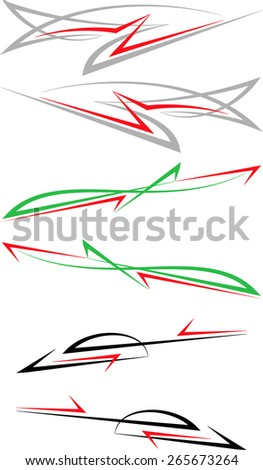 Car Sticker Design Stock Images RoyaltyFree Images Vectors - Best automobile graphics and patterns