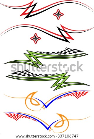 Car Decals Stock Images RoyaltyFree Images  Vectors Shutterstock - Best automobile graphics and patterns