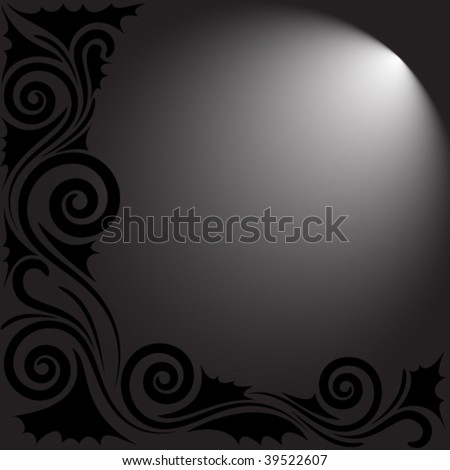 velvet background with place for your text - stock vector