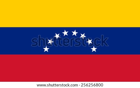 Venezuela flag - stock vector