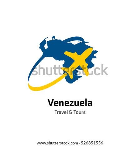 Venezuela travel tours logo vector travel stock vector 526851556 venezuela travel and tours logo vector travel company logo design country map leisure travel sciox Images