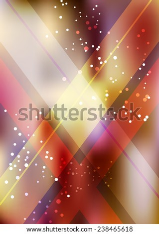 Vertical color party background with graphic elements.  Vector illustration. - stock vector