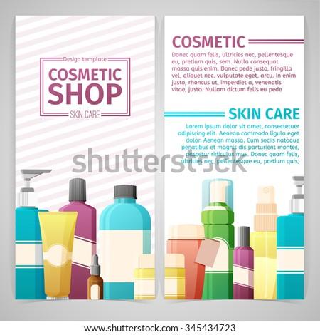 Vertical Design Template Brochures Booklets Posters Stock Vector