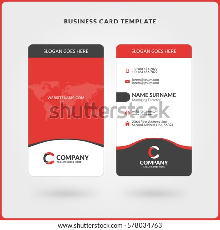 Business Id Card Template. 30 blank id card templates free word ...