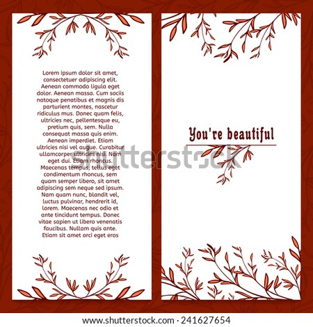vertical greeting card template images best free