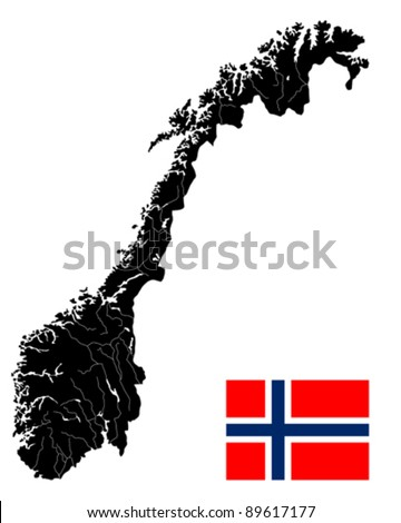 Physical Map Of Norway Political Map Of Norway Maps Of Baltic - Norway map detailed