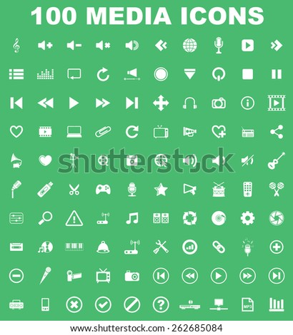 Very Useful Construction Icon Set On Flat UI Color Background. Eps-10. - stock vector
