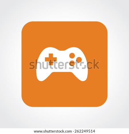 Very Useful Flat Icon of game. Eps-10. - stock vector