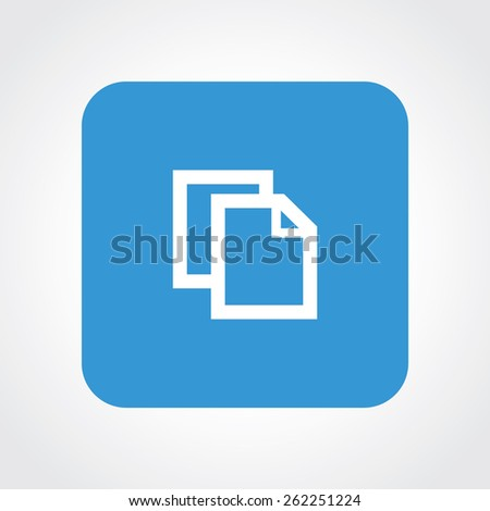 Very Useful Flat Icon of Paste. Eps-10. - stock vector