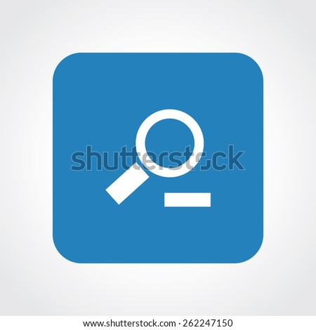 Very Useful Flat Icon of Search. Eps-10. - stock vector