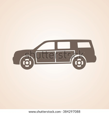 Very Useful Icon of Car for Web & Mobile. Eps-10.
