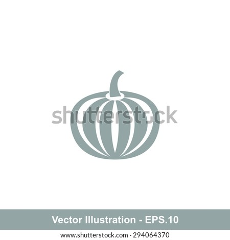 Very Useful Icon Of Pumpkin. Eps-10. - stock vector