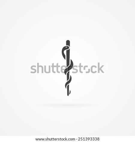 Veterinary carer icon. - stock vector