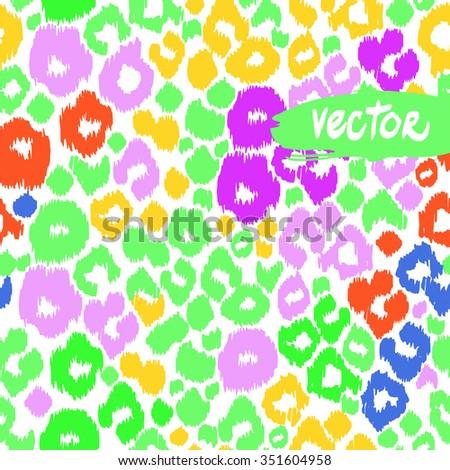 Green leopard print vector - photo#28