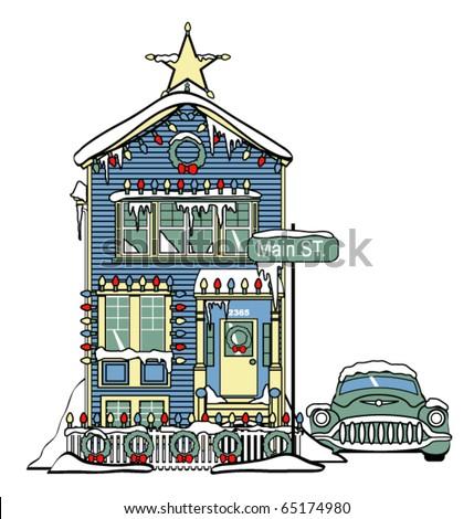 Victorian House Stock Vectors, Images & Vector Art | Shutterstock