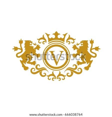 Lion Crest Stock Images Royalty Free Images Vectors