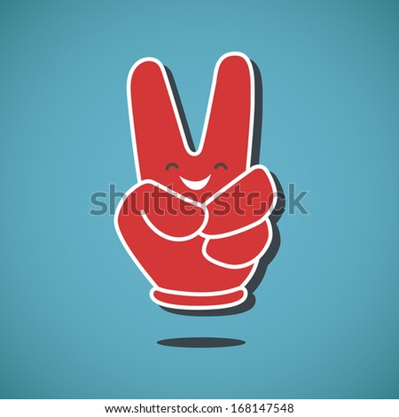 For Victory Sign...V For Victory Sign