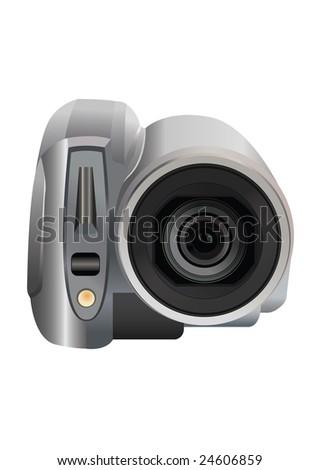 video camera vector - stock vector