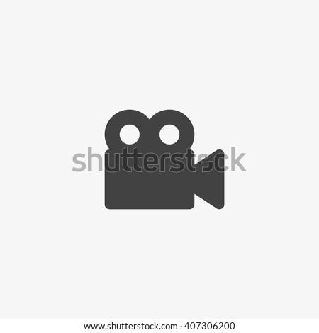 Video camera, Video camera Icon Vector, Video camera Icon Flat, Video camera Icon App, Video camera Icon UI, Video camera Icon Art, Video camera Icon Logo, Video camera Icon Web, Video camera Icon EPS - stock vector