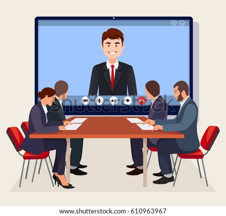 online meetings and video conferencing