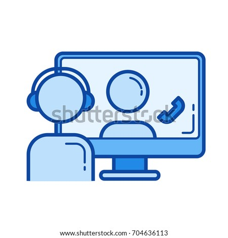 Video Conference Stock Vectors, Images & Vector Art ...