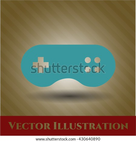 Video Game icon, Video Game icon vector, Video Game icon symbol, Video Game flat icon, Video Game icon eps, Video Game icon jpg, Video Game icon app, Video Game web icon, Video Game concept icon - stock vector