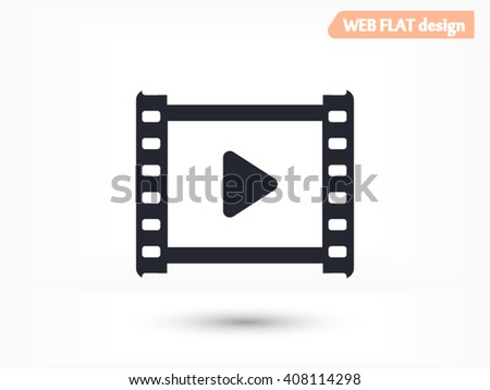 Video icon, video icon eps 10, video icon vector, video icon illustration, video icon jpg, video icon picture, video icon flat, video icon design, video icon web, video icon art, video icon JPG - stock vector