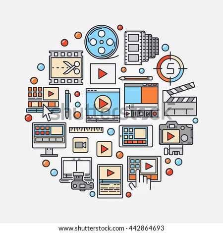 Video Editing Stock Photos Royalty Free Images Vectors