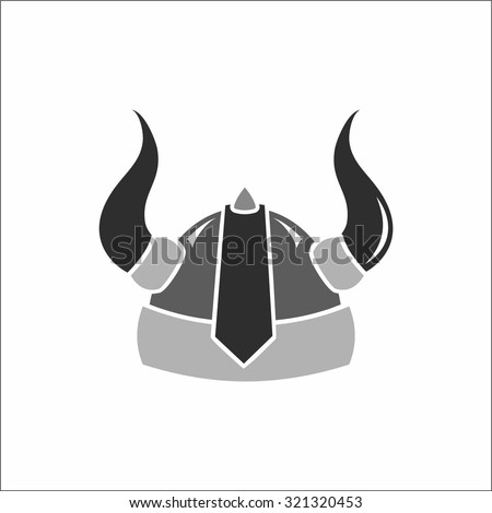 Viking Helmet Stock Vector HD (Royalty Free) 321320453 - Shutterstock