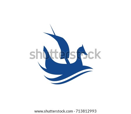viking ship logo stock vector 713812993 shutterstock rh shutterstock com viking ship logo free viking ship lego