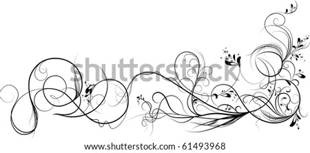 Vines. - stock vector