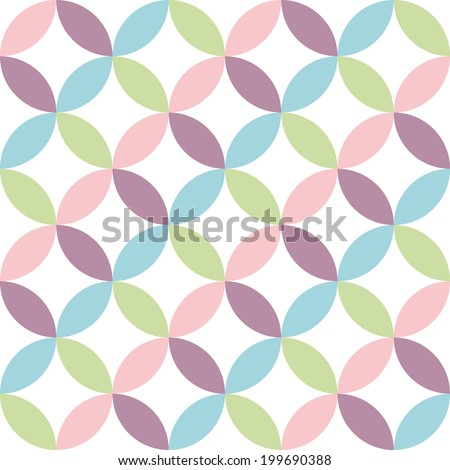 Vintage abstract seamless pattern. Seamless patterns. White background is removed. - stock vector