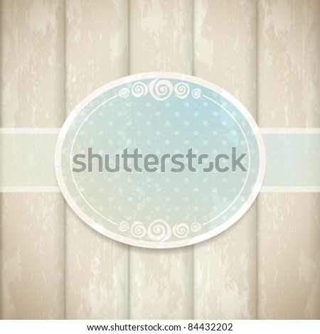 vintage background. eps10 - stock vector