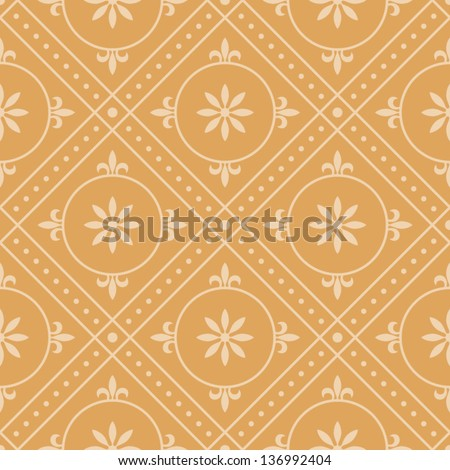 Vintage background pattern 5 - stock vector