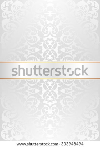 vintage background with ornaments - stock vector