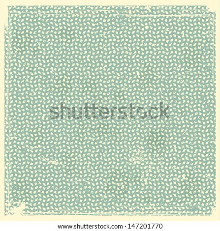 Vintage background with rectangle pattern  - stock vector