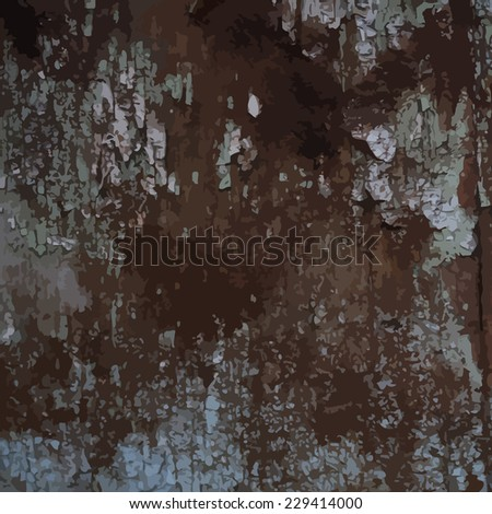 Vintage background with rust. Vector - stock vector