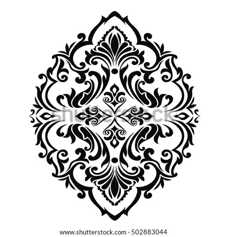 Traditional Indian Motif Stock Vector 421986136 Shutterstock