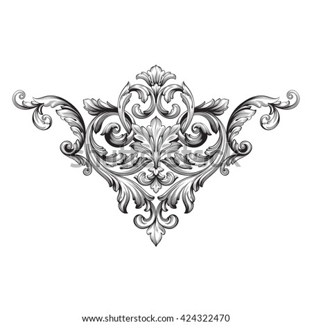 Baroque stock images royalty free images vectors for Baroque fashion design