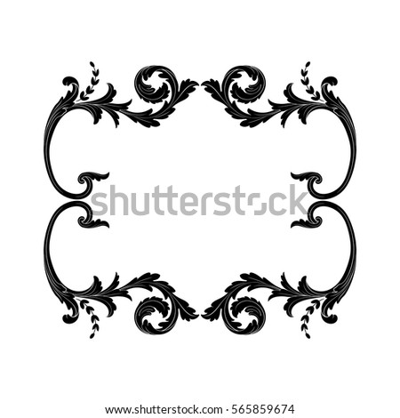 Ornament Stock Vector 418639960 Shutterstock