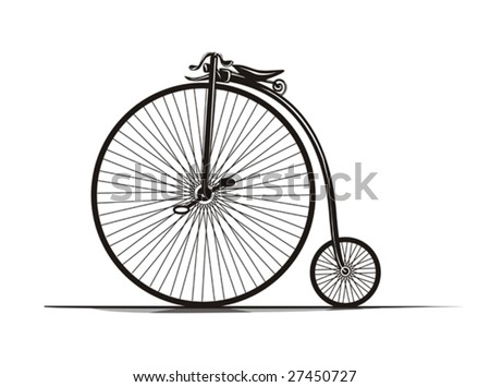 Vintage Bicycle's illustration.
