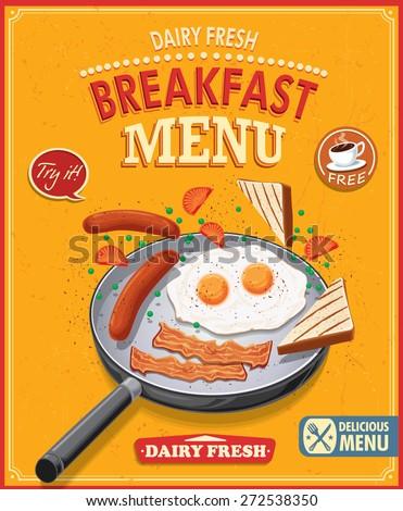 Breakfast Menu Stock Vectors & Vector Clip Art | Shutterstock