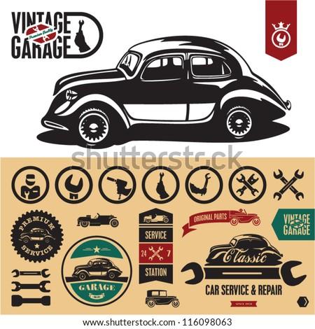 vintage car stock images royalty free images vectors shutterstock. Black Bedroom Furniture Sets. Home Design Ideas