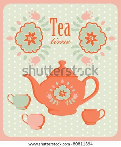 Retro Tea Stock Images, Royalty-Free Images & Vectors ...