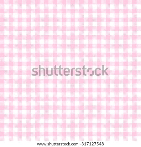 Vintage Checkered Table Cloth Background Colored Pink