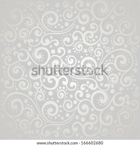 Vintage Christmas background. Seamless stars pattern. vector illustration  - stock vector