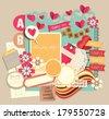 Vintage decorative design elements (22) - stock vector