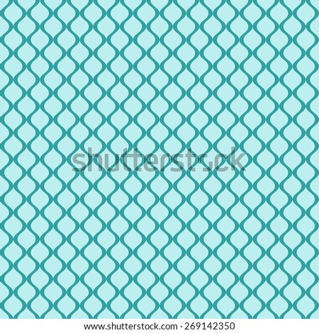 vintage decorative seamless pattern background - stock vector